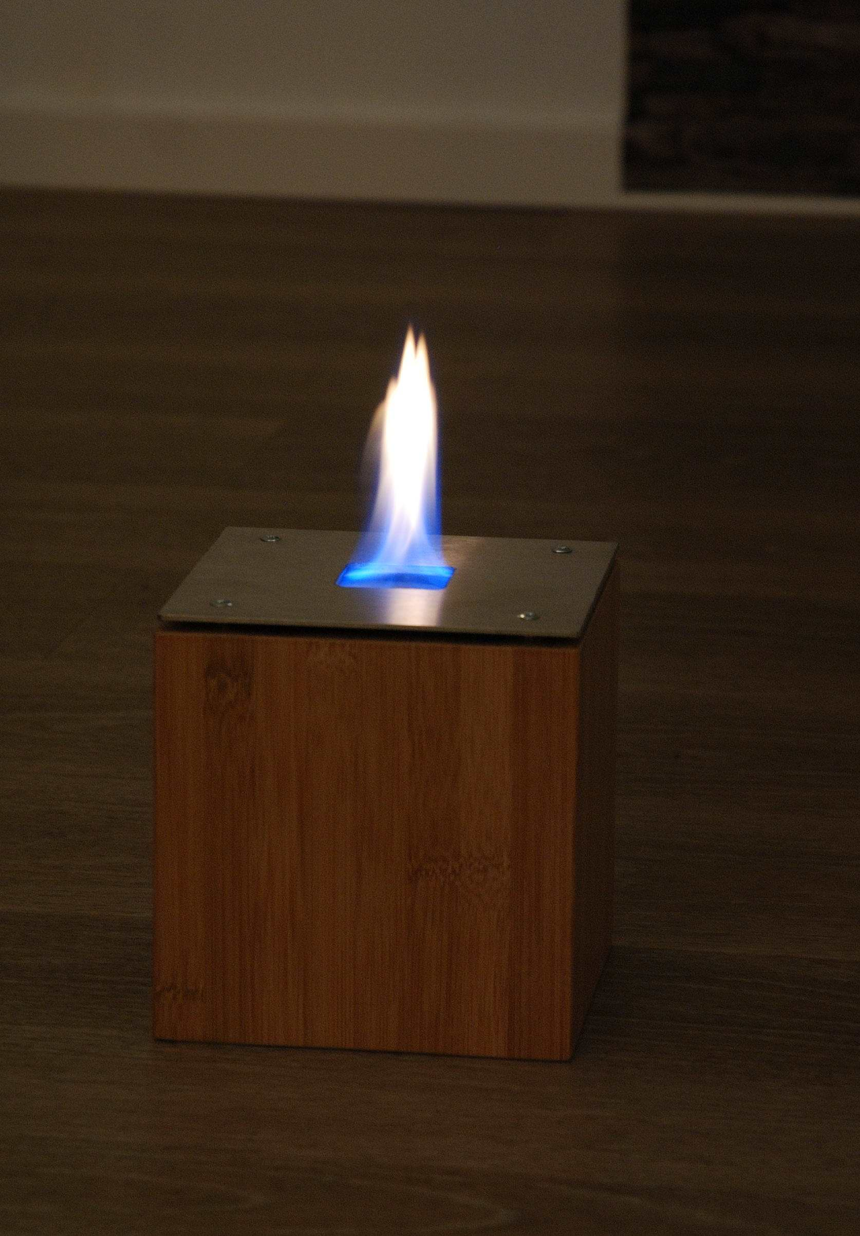 Feuerstelle Leimholz