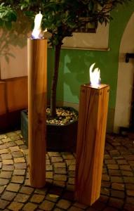 Feuerstellen Massivholz