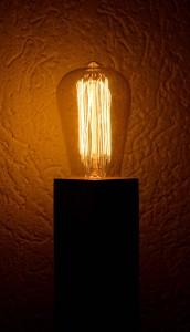 Lampe Leimholz
