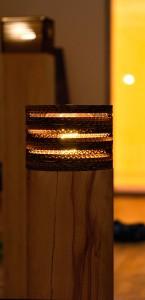 Lampe Massivholz